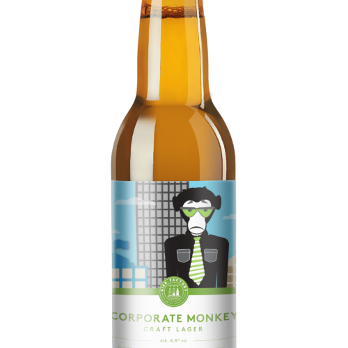 Corporate Monkey Craft Lager