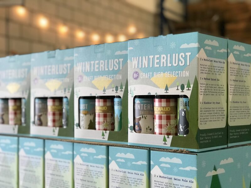 WINTERLUST CRAFT BIER SELECTION