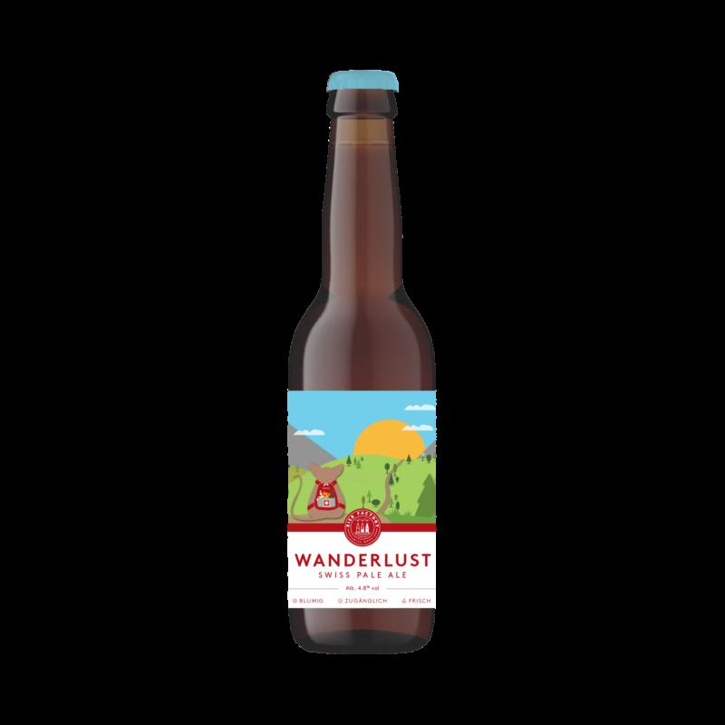 Wanderlust Swiss Pale Ale Bier Factory