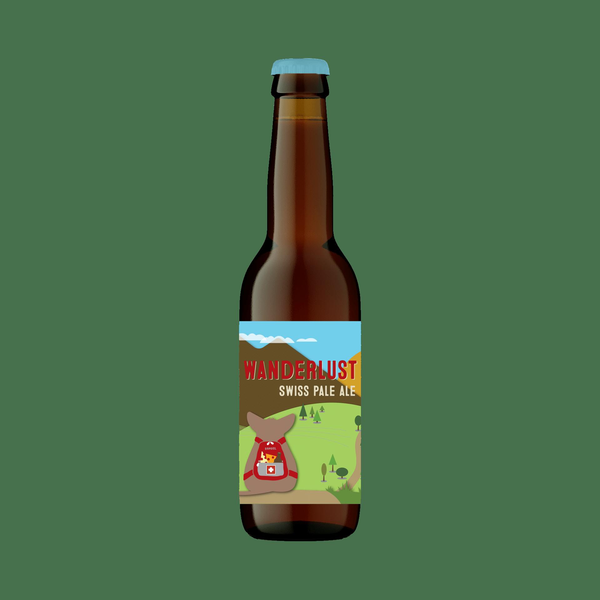 Wanderlust Swiss Pale Ale 33cl