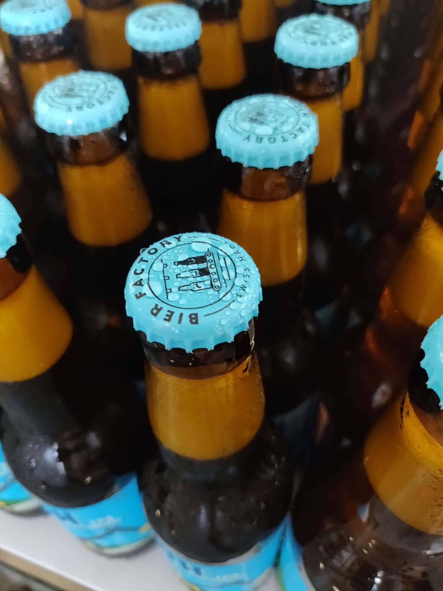 customized swiss beer