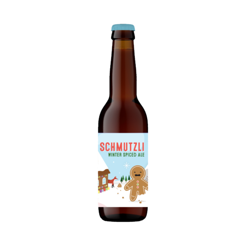 Schmutzli Winter Spiced Ale Bottle